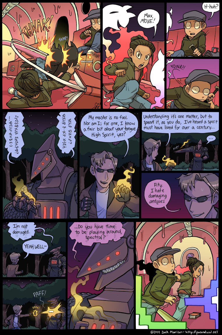Ampwom paranatural - chapter 4 page 81